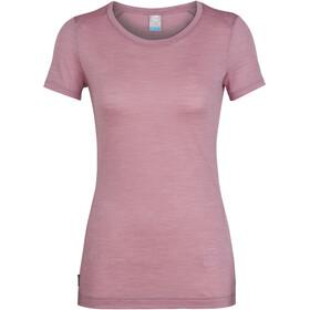 Icebreaker Sphere Naiset Lyhythihainen paita , vaaleanpunainen